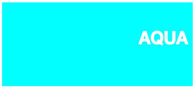 Color html Aqua #00FFFF