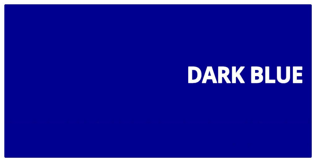color html dark Blue #00008b