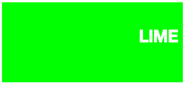 Color html Lime #00FF00