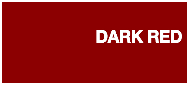 color html Dark red #8b0000
