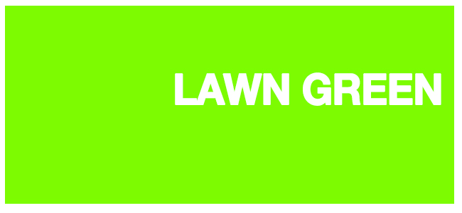 color html Lawn Green #7cfc00