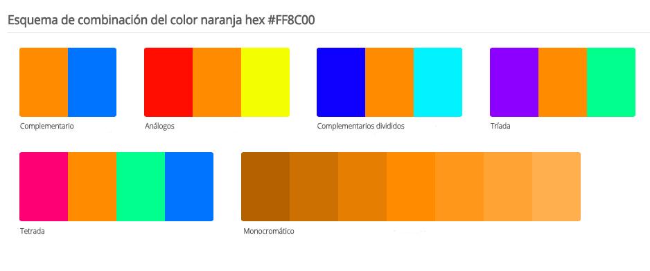 Con que colores combina el naranja free no cabe duda que el naranja fue un color emblemtico en - Colores que combinan ...