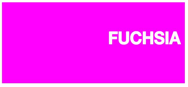 Color html Fuchsia hex #FF00FF