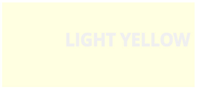 Color html Light Yellow hex #FFFFE0