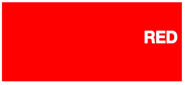 color html red hex #ff0000