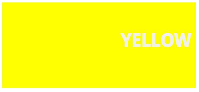 color hexadecimal Yellow hex#ffff00