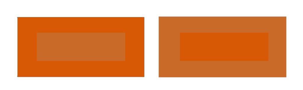 contrastes de colores: calidad de colores