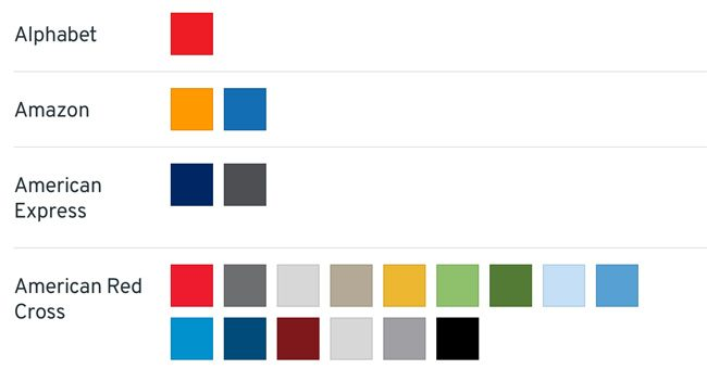 Color schemes generator or Color picker Brand Color
