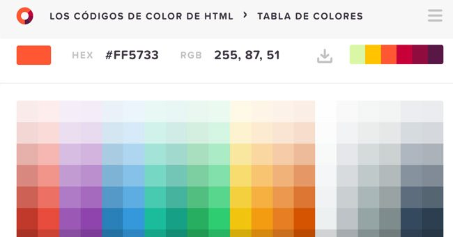 color schemes generator or Color picker HTML Color Code